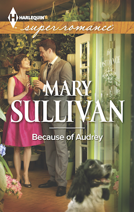 Because of Audrey, Mary Sullivan, Harlequin Superromance, Accord Colorado, Audrey Stone, Gray Turner