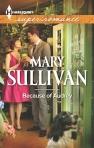 Mary Sullivan, Because of Audrey, Harlequin Superromance October 2013