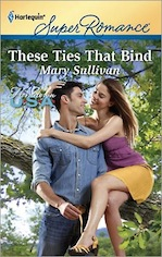 Mary Sullivan, These Ties that Bind, Harlequin Superromance, Ordinary Montana, Rem Caldwell, Sara Franck