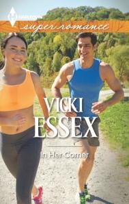 Vicki Essex, In Her Corner, Harlequin Superromance, MMA